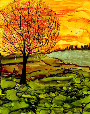 Painting - Muddy Fall by Laurie Williams