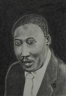 African-american Drawing - Muddy by Nick Young