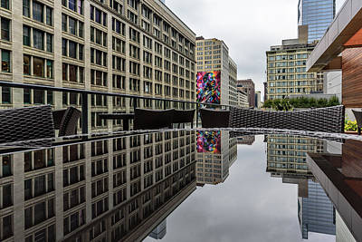 Photograph - Muddy Reflection by Randy Scherkenbach