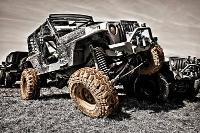 Photograph - Muddy Super Swamper Tj by Luke Moore