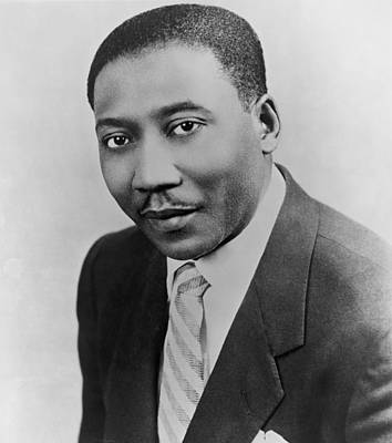 Muddy Waters Photograph - Muddy Waters 1915-1983, Blues Guitarist by Everett