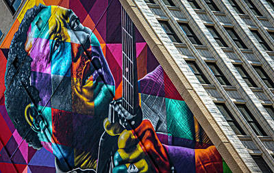 Photograph - Muddy Waters Chicago State Street V2 Dsc2224 by Raymond Kunst