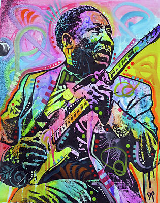 People Mixed Media - Muddy Waters by Dean Russo