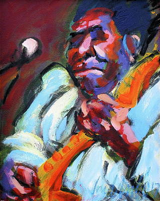 Painting - Muddy Waters by Les Leffingwell