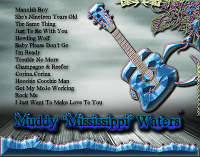 Photograph - Muddy Waters by Michael Damiani