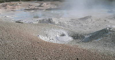 Photograph - Mudpots Of Yellowstone by Michele Myers