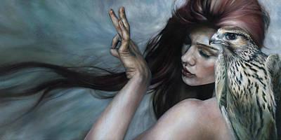 Painting - Mudra by Ragen Mendenhall