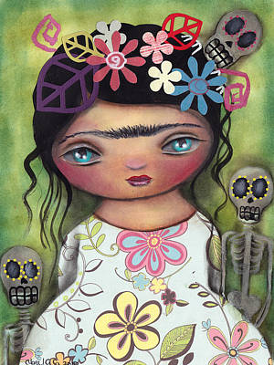 Muertos Fest Original by Abril Andrade Griffith