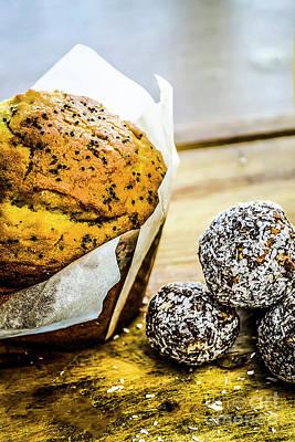 Photograph - Muffin Break 3 by Naomi Burgess