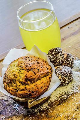 Photograph - Muffin Break 6 by Naomi Burgess
