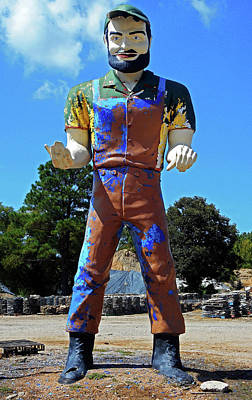 Photograph - Muffler Man 1 by Ron Kandt