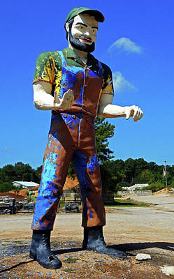 Photograph - Muffler Man 2 by Ron Kandt