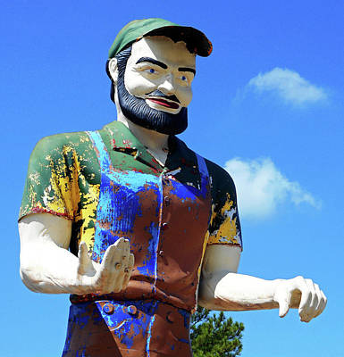 Photograph - Muffler Man 3 by Ron Kandt