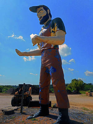 Photograph - Muffler Man 5 by Ron Kandt