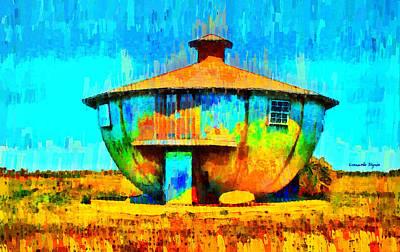Symbols Digital Art - Mug House - Da by Leonardo Digenio