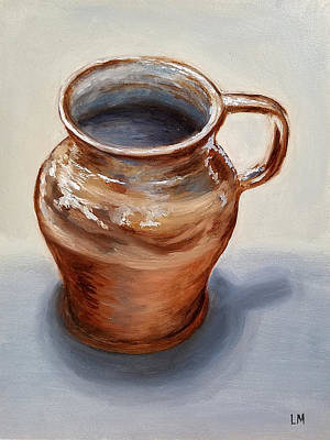 Painting - Mug by Linda Merchant