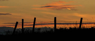 Photograph - Mug - Prairie Sunset by Inge Riis McDonald