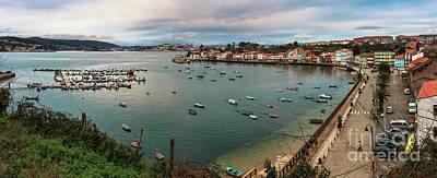Photograph - Mugardos Port Panorama La Coruna Spain by Pablo Avanzini