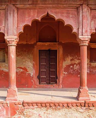 Travel Photograph - Mughal Architecture, Agra, India by Nila Newsom