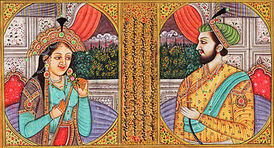 Photograph - Mughal Painting by Munir Alawi