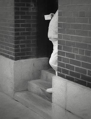 Street Photograph - Mugshot I Bw by David Gordon