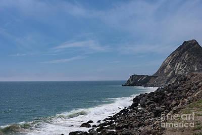 Photograph - Mugu Rock And Sea by Jeffrey Hubbard