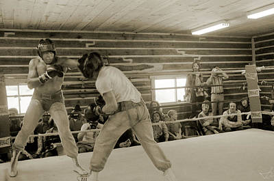 Photograph - Muhammad Ali And Ernie Jones Spar by Jan W Faul