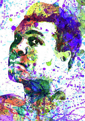 Boxer Mixed Media - Muhammad Ali by Dante Blacksmith