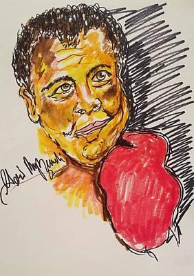 Sports Royalty-Free and Rights-Managed Images - Muhammad Ali by Geraldine Myszenski