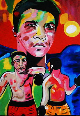 Painting - Muhammad Ali by Nora Shepley