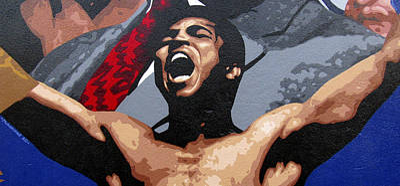 Valdes Painting - Muhammad Ali by Roberto Valdes Sanchez
