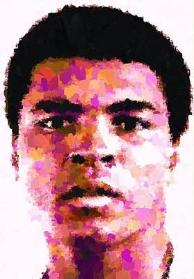 Painting - Muhammad Ali by Samuel Majcen
