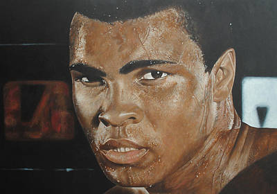Painting - Muhammad Ali The Greatest by David Dunne