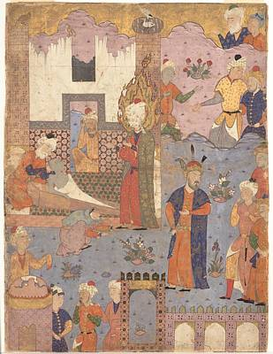 Boy Painting - Muhammad Revives The Sick Boy by Eastern Accent
