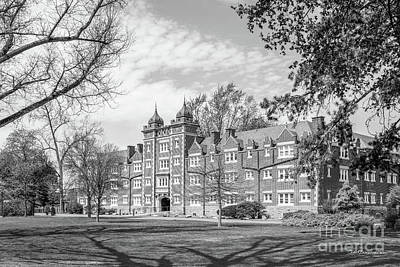 Muhlenberg College East Hall Art Print by University Icons