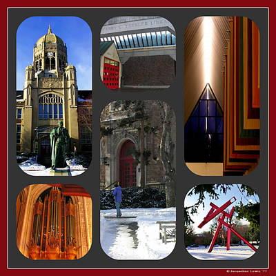 Photograph - Muhlenberg Composite - Campus by Jacqueline M Lewis