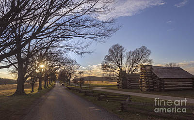 Photograph - Muhlenberg Huts At Valley Forge by Rima Biswas