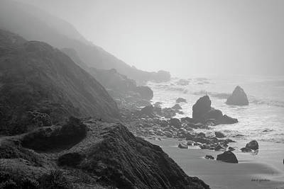 Photograph - Muir Beach I Bw by David Gordon