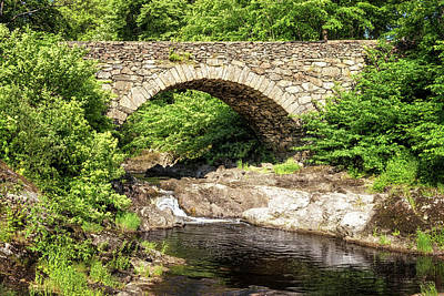 Photograph - Mukedal Old Bridge by James Billings