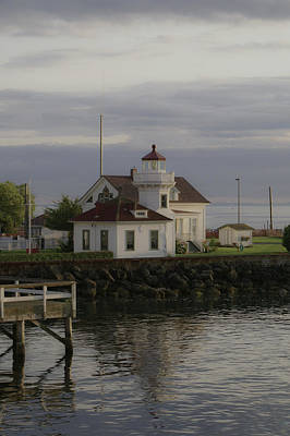 Photograph - Mukilteo Light House   by Henri Irizarri