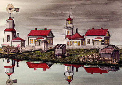 Mukilteo Lighthouse Art Print by James Lyman