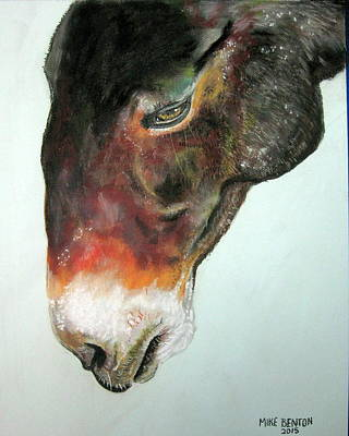 Pastel - Mule by Mike Benton