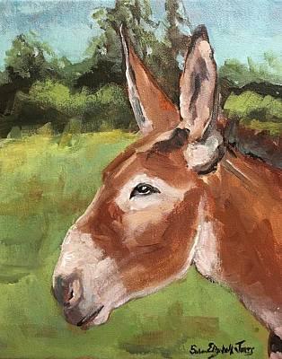 Painting - Mule by Susan Elizabeth Jones
