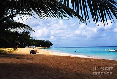 Mullens Beach Barbados Art Print by Thomas R Fletcher