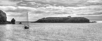 Photograph - Mullion Island by Hazy Apple