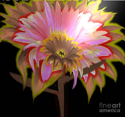 Painting - Multi Color Daisy by Belinda Threeths