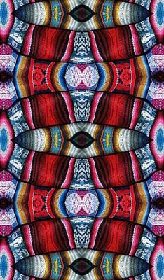 Digital Art - Multi Pattern by Ester Rogers