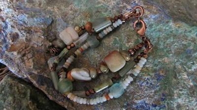 Jewelry - Multi-stone #b018 by Barbara Prestridge