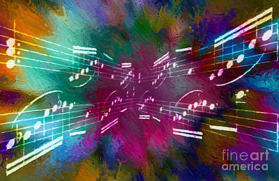 Digital Art - Multi-timbral Intermezzo 2 by Lon Chaffin