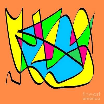Eliso Digital Art - Multicolor Ocre by Eliso Silva
